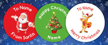 Christmas Stickers | www.stickersinternational.co.uk